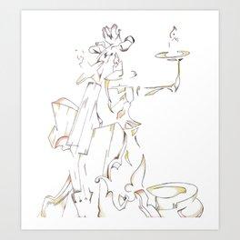 Candelabra Art Print