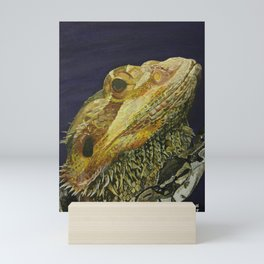 The Dragon & The Snake Mini Art Print