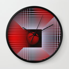3D for duffle bags and more -1- Wall Clock