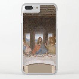Leonardo da Vinci – Ultima cena – the last supper Clear iPhone Case
