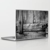 wooden Laptop & iPad Skins featuring wooden by Bonnie Jakobsen-Martin