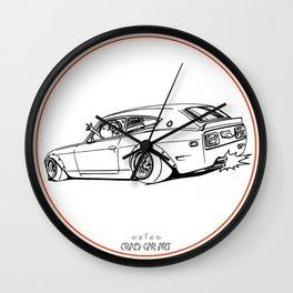 Crazy Car Art 0225 Wall Clock
