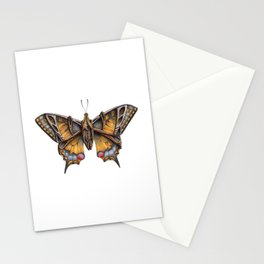 Steampunk Swallowtail Butterfly Stationery Cards