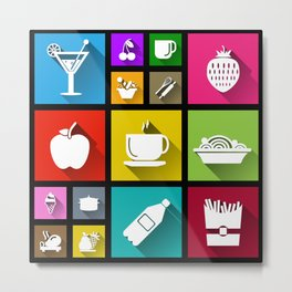 Gastro Windows 8.1 Metal Print