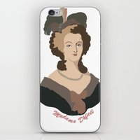 marie antoinette iPhone & iPod Skins featuring Antoinette by HistoryMistress