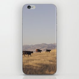 Western Cattle Art iPhone Skin