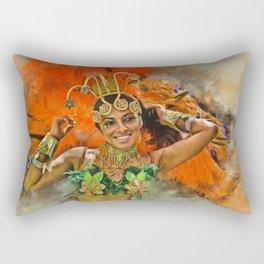 Carnival Queen Rectangular Pillow