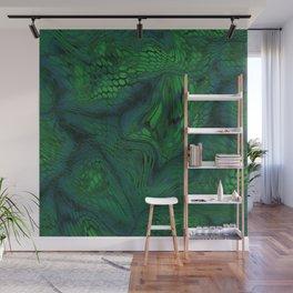 green iguana Wall Mural