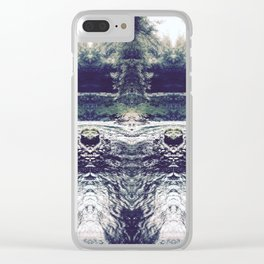 Cool Waters - Water Guards Clear iPhone Case