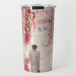 """Florine Stettheimer """"Sunday Afternoon in the Country"""" Travel Mug"""