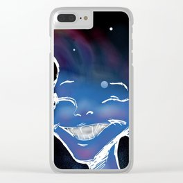 In Her Space Clear iPhone Case
