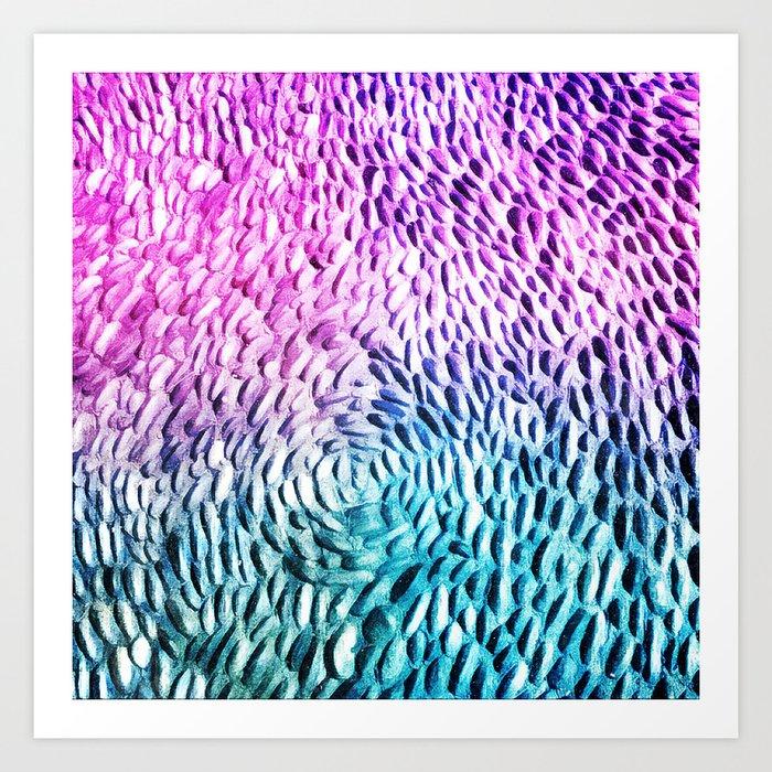Make your path colorful Art Print