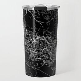 Bilbao Black Map Travel Mug