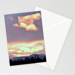 Chugach Mts Serenity Sunrise - III Stationery Cards