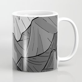 The Dark Grey Mountains Coffee Mug