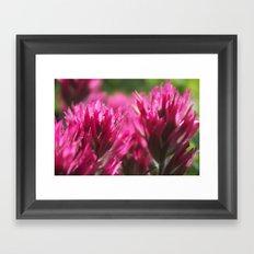 Paintbrush Framed Art Print