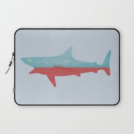 Bad day for a swim Laptop Sleeve