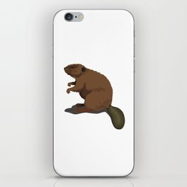 Are You A Beaver? 'Cuz Dam The Busy Beaver Shirt iPhone Skin