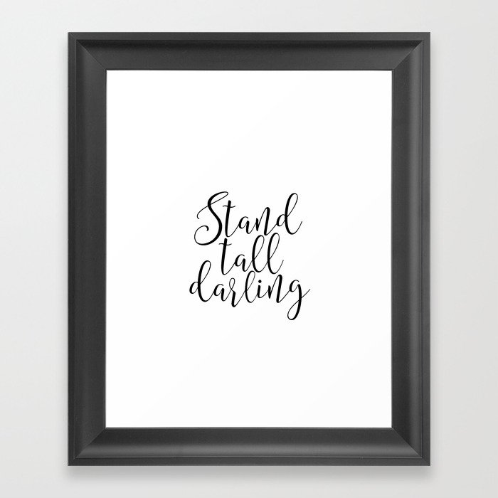 inspirational artwork for office. Office Wall Art Decor Printable Art Stand Tall Darling Boss  Lady Girl Inspirational Inspirational Artwork For Office L