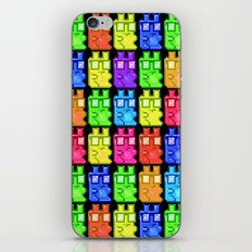 Pixel Gummy Bears iPhone & iPod Skin