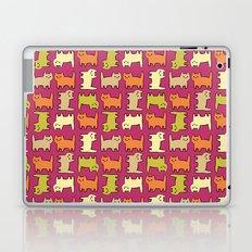 Cartoon Kitties Laptop & iPad Skin