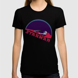 spacex starman to the moon T-shirt