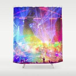House music Shower Curtain
