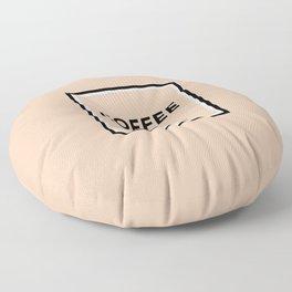 Latte No5 Floor Pillow