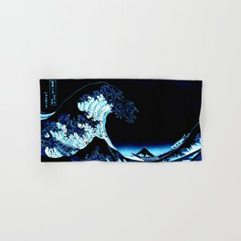 the Great Wave Blue Hand & Bath Towel