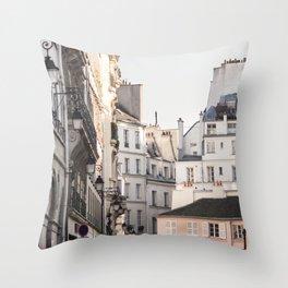 Isle Saint Louis in Paris Throw Pillow