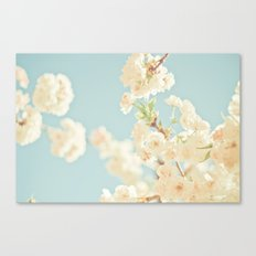 Cotton Candy In The Sky Canvas Print