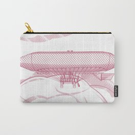 Airship 2, vector engraving Carry-All Pouch