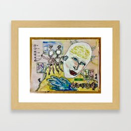 Abstract 82-89 Framed Art Print