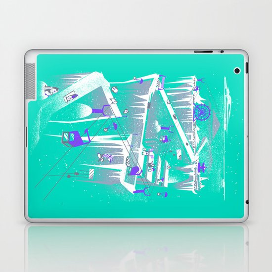 Penguins (flat, palette swap) Laptop & iPad Skin