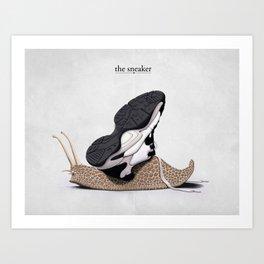 The Sneaker Art Print