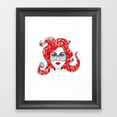 Kimi Framed Art Print