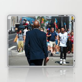 nyc modern mad men2 Laptop & iPad Skin