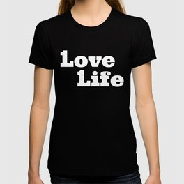 One Love, One Life, Love Life (red) T-shirt
