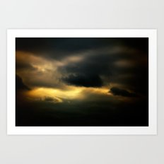 Gloomy Sky 0007 Art Print
