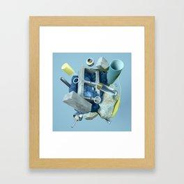 En Construcción Framed Art Print