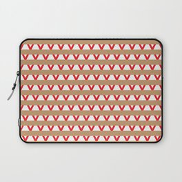 Paranoia (Tan and Red) Laptop Sleeve