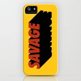 Savage 08 iPhone Case