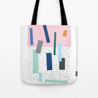 friday Tote Bags featuring Friday by Mimmi Wide