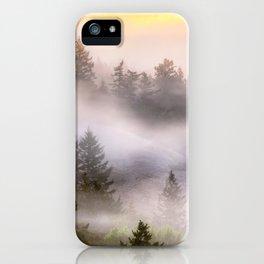 Misty Mount Tamalpais State Park iPhone Case