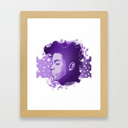 Purple Reign Framed Art Print