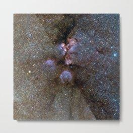 Cats Paw Nebula Metal Print