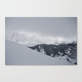 Diving light Canvas Print