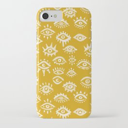 Mystic Eyes – Marigold Palette iPhone Case
