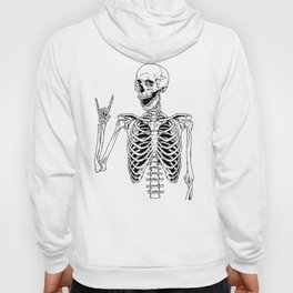 Rock and Roll Skeleton Hoody