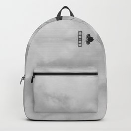 Golden Gate Bridge Black and White Reflections Backpack